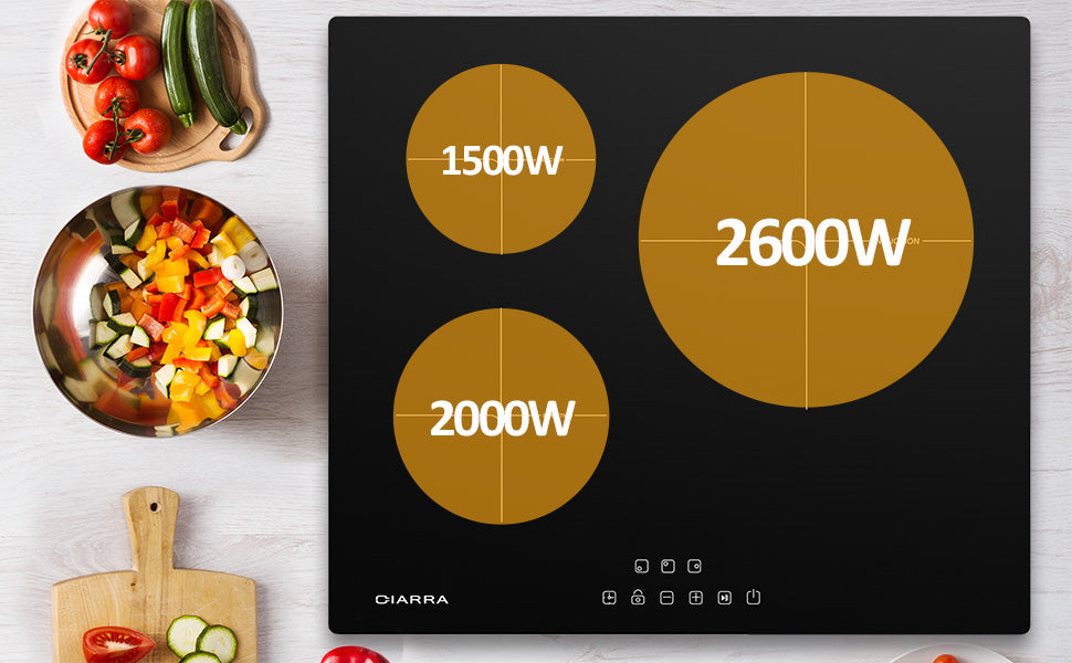built in induction hob