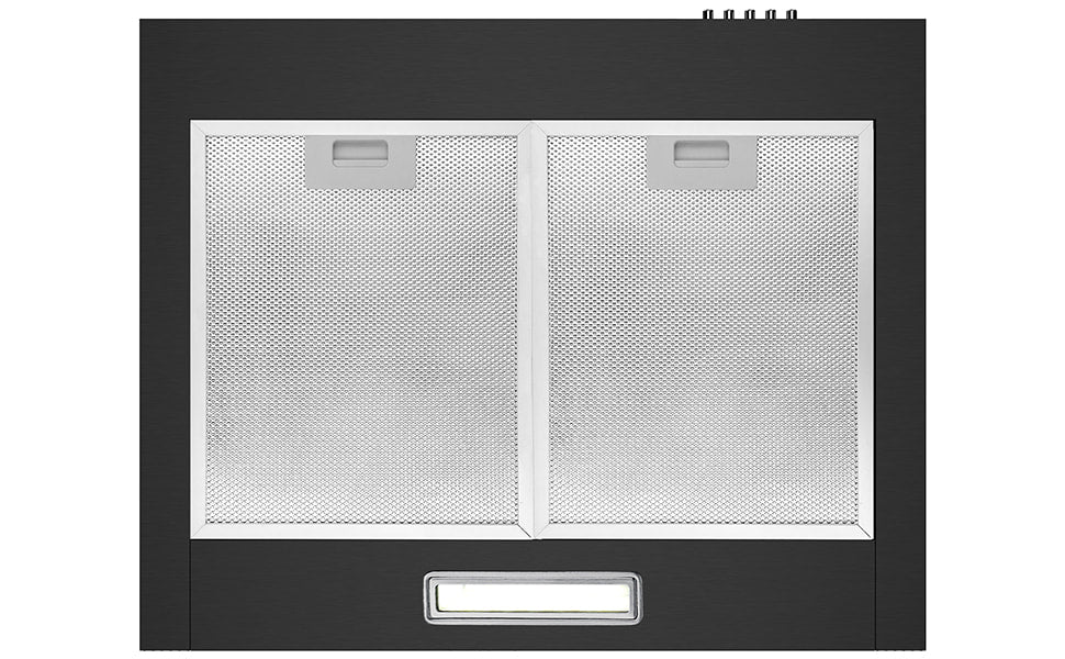 CIARRA 60cm Wall Mount Cooker Hood with 3-speed Extraction CBCB6201-OW