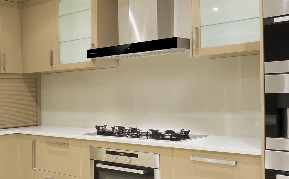 CIARRA Touch Control Chimney Cooker Hood 60cm CBCS6102-OW