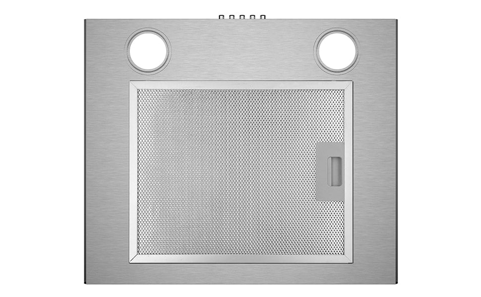 CIARRA 60cm Glass Cooker Hood Curved Stainless Steel CBCS6506B-OW UK