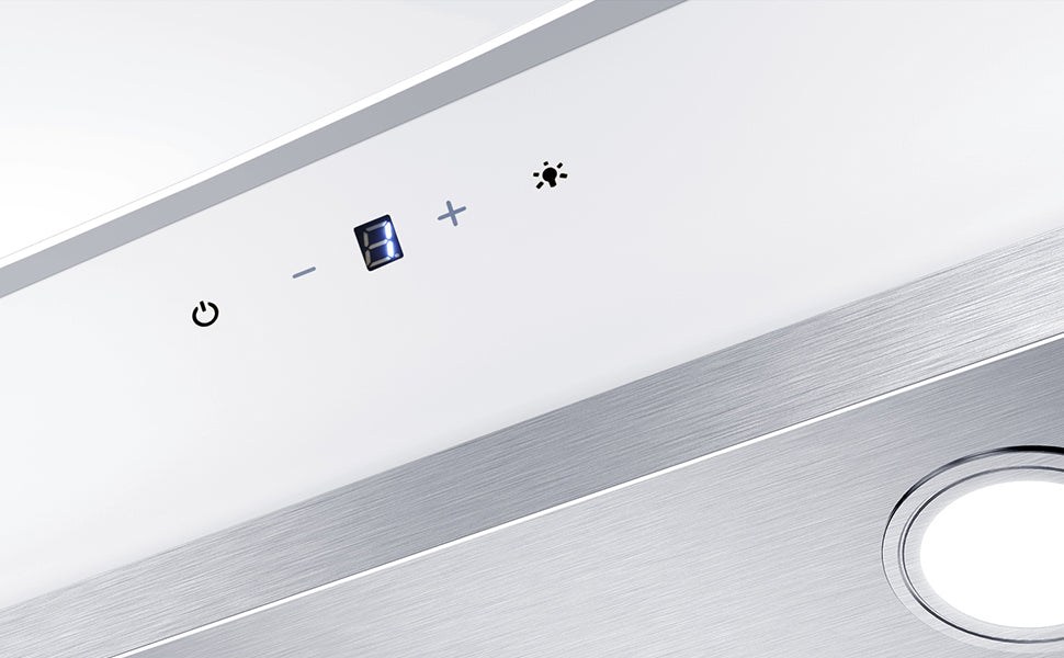 CIARRA Angled Cooker Hood 60cm Touch Control 750m³/h CBCW6736N-OW