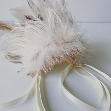 Load image into Gallery viewer, Pixie Princess Marabou Feather Headdress