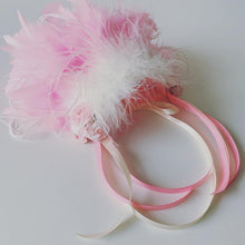 Load image into Gallery viewer, Fairy Princess Marabou Feather Headdress