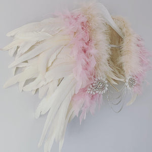 Charlotte Feather Capelet