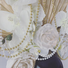 Load image into Gallery viewer, Enchanted White Orchid Bridal Headdress
