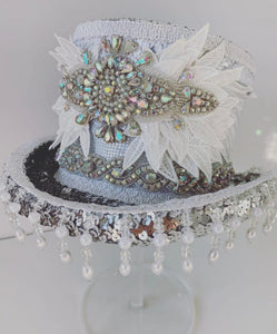 Liza Bridal Top Hat