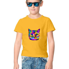 Load image into Gallery viewer, NQ 17023 | KIDS | Graphic Design Tshirt | CAT