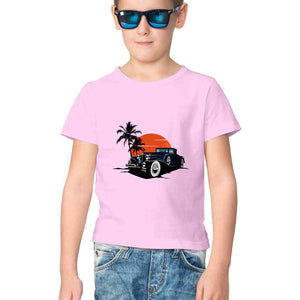NQ 17012 | KIDS | Graphic Design Tshirt | CAR |