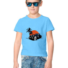 Load image into Gallery viewer, NQ 17012 | KIDS | Graphic Design Tshirt | CAR |