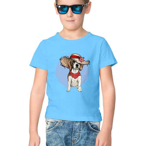 NQ 17010 | KIDS | Graphic Design Tshirt | DOG |