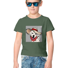 Load image into Gallery viewer, NQ 17013 | KIDS | Graphic Design Tshirt | DOG |