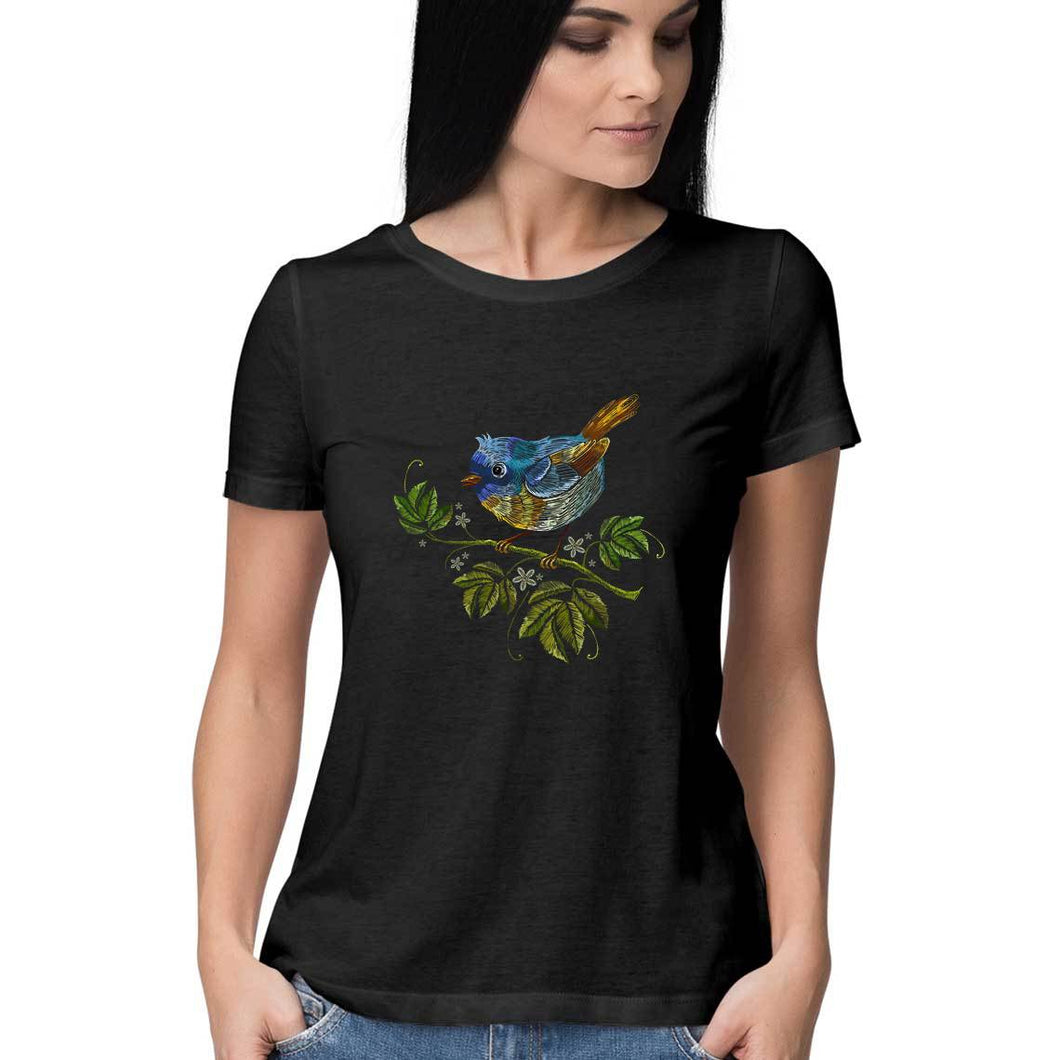 NQ 16016 | Women | Grapic Design Tshirt | BIRD |