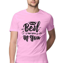 Load image into Gallery viewer, NQ 15002 | Men's | Typography Design T-Shirt | BEST VERSION OF YOU |