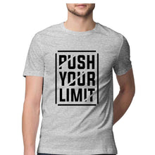 Load image into Gallery viewer, NQ 15004 | Men's | Typography T-Shirt Design | PUSH YOUR LIMIT |