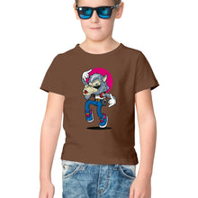 Load image into Gallery viewer, NQ 17016 | KIDS | Graphic Design Tshirt |