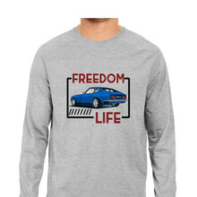 Load image into Gallery viewer, NQ 15075 | Men's | Graphic Design LONG SLEEV Tshirt | FREEDOM LIFE |