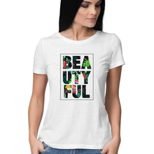 Load image into Gallery viewer, NQ 16019 | Women | Grapic Design Tshirt | BEATIFUL |