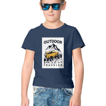 Load image into Gallery viewer, NQ 17002 | KIDS | Graphic Design Tshirt | OUTDOOR TRAVELLER |