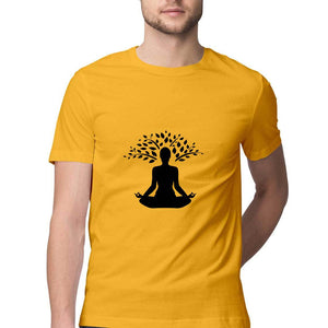 NQ 15055 | Men's | Graphic Design Design Tshirt | YOGA |
