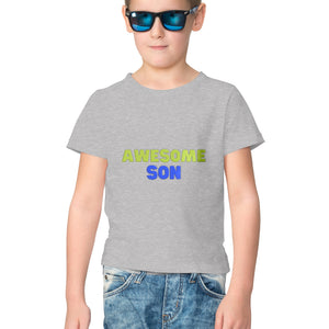 NQ 17061 | KIDS | Graphic Design Design Tshirt | AWESOME SON |