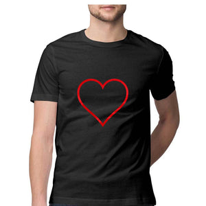 NQ 15070 | Men's |  Graphi Design Tshirt | HEART |