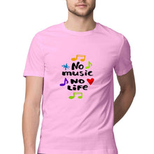 Load image into Gallery viewer, NQ 15066 | Men's | Graphic Design Tshirt | NO MUSIC NO LIFE |