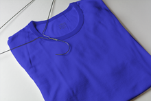 Load image into Gallery viewer, ROYAL BLUE HALF SLEEV PLAIN T-SHIRT