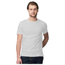 Load image into Gallery viewer, Grey Half Sleeve plain t-shhirt