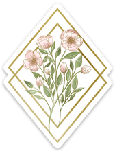 Load image into Gallery viewer, Wildflower Diamonds Bouquet Sticker, 3x2 in.