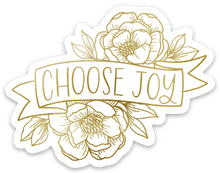 Load image into Gallery viewer, Choose Joy Sticker, 3x2.5in.