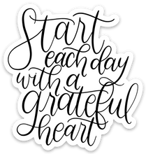 Load image into Gallery viewer, Grateful Heart Sticker, 3x3 in.
