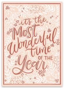 It's the Most Wonderful Time of the Year Sticker, 3x3 in.