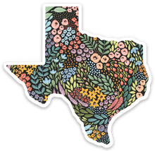 Load image into Gallery viewer, Texas Floral State Sticker, 3x3 in.