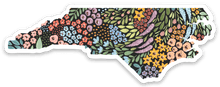 Load image into Gallery viewer, North Carolina State Sticker, 3.5x2 in.