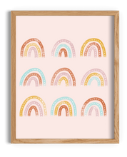 Load image into Gallery viewer, Watercolor Rainbows Art Print