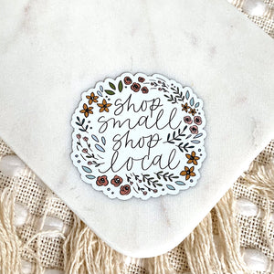 Shop Small Shop Local Magnet, 3x3 in.