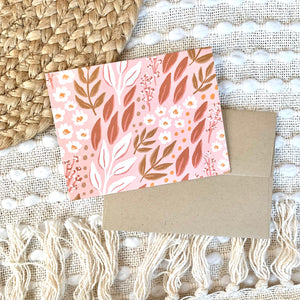 Set of 12 Floral Greeting Cards