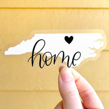 Load image into Gallery viewer, North Carolina Home Sticker, 4x2 in.