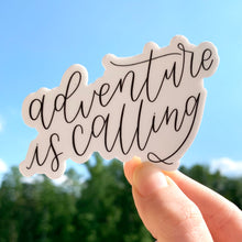Load image into Gallery viewer, Adventure is Calling Sticker, 3x2.5in.
