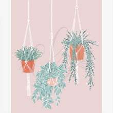 Load image into Gallery viewer, Hanging Plants Art Print