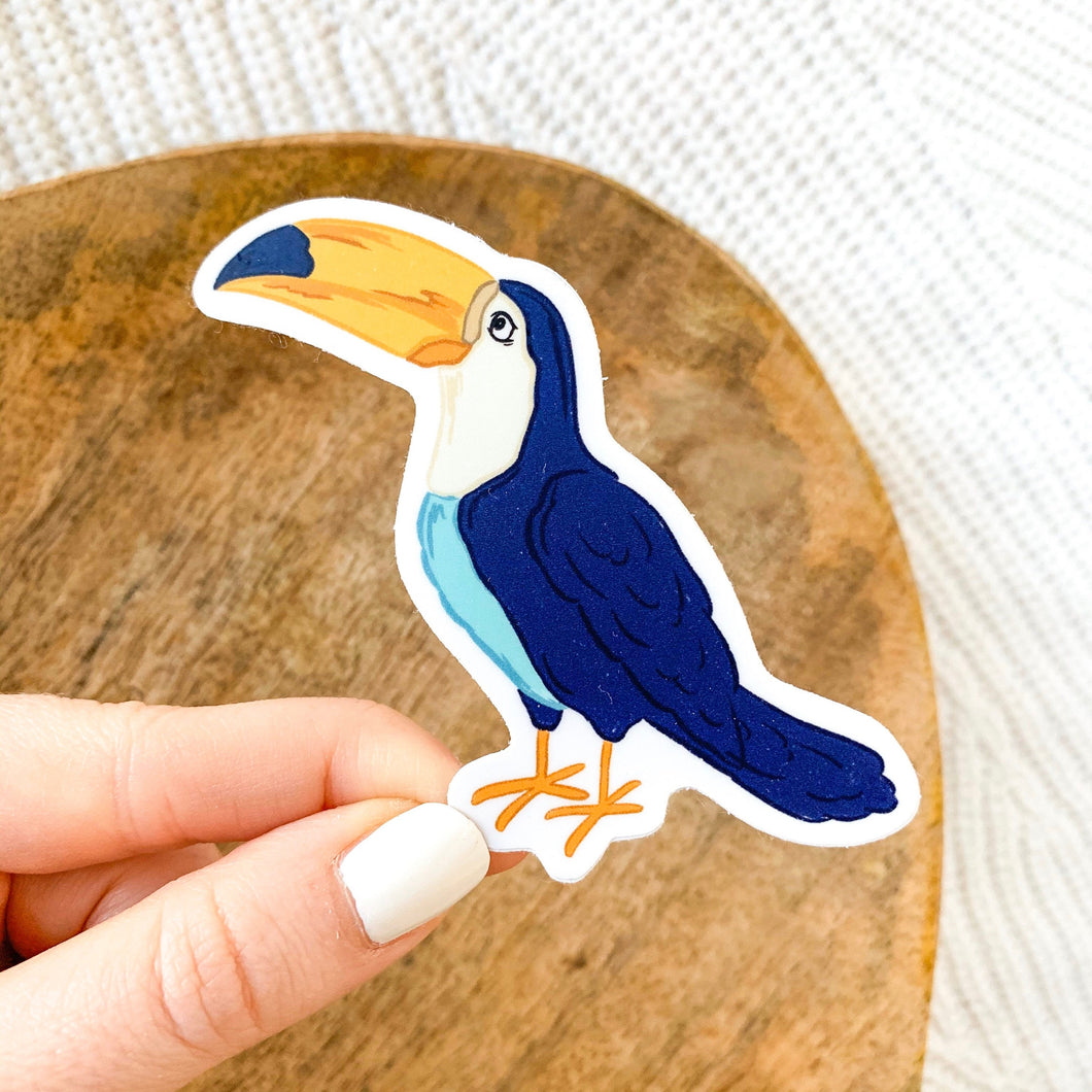 Toucan Sticker, 3x3 in.