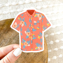 Load image into Gallery viewer, Hawaiian Shirt Sticker, 3x3 in.