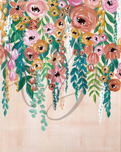 Load image into Gallery viewer, Hanging Florals Painting Art Print