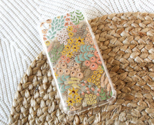 Clear Phone Case | Clear Wildflowers