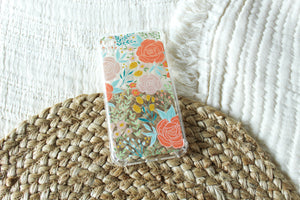 Clear Phone Case | Peonies and Tulips