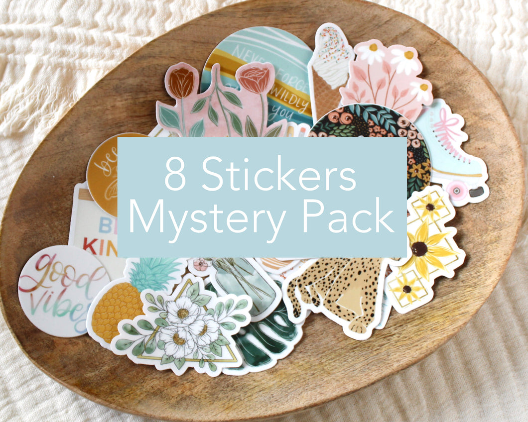 8 Stickers Mystery Pack
