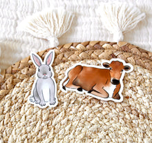Load image into Gallery viewer, Bunny Sticker, 3x2in.