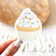 Load image into Gallery viewer, Cupcake Sticker, 2x2 in.
