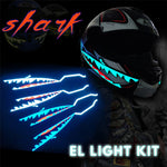 Luz decorativa Shark - AFABiker