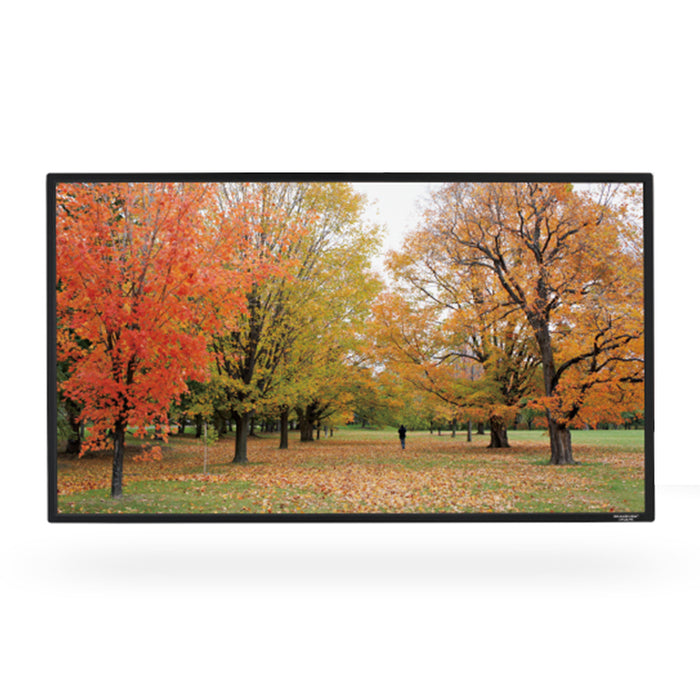 "Grandview GV-PME100 | ""EDGE"" 100"" fixed projection screen - ratio 16:9 - slim  outline"